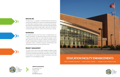School District Brochure